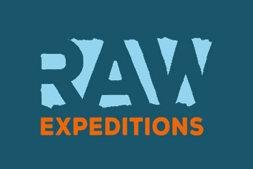 RAW Adventures - RAW Expeditions logo