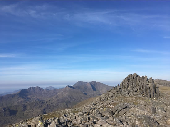 RAW Adventures - Walks Eryri - Glyder Fach and Glyder Fawr