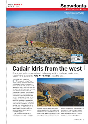 RAW Adventures - TRAIL Magazine - Cadair Idris