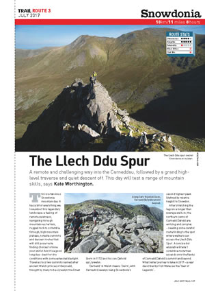 RAW Adventures - TRAIL Magazine - Llech Ddu Spur