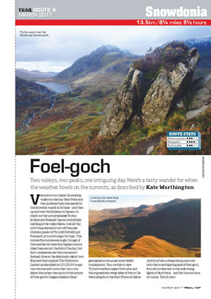 RAW Adventures - TRAIL Magazine - Foel Goch